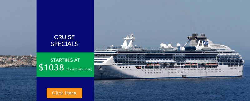 Cruise Specials- Cruise Packages- Cruise Deals