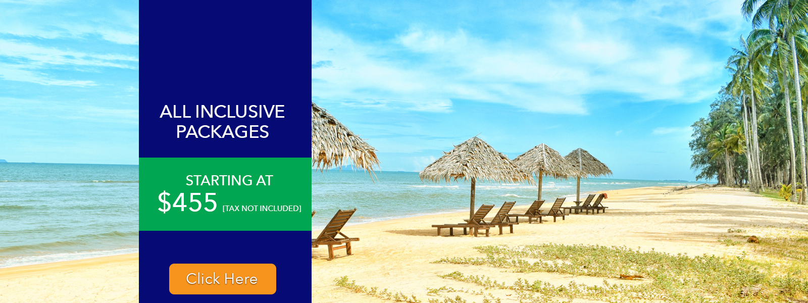 Local Travel Agency Airfare All Inclusive Packages